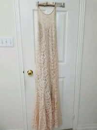 off white long dress Brampton