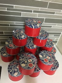 Brand new Ikea tin containers 25 in total Milton, L9T 7R2