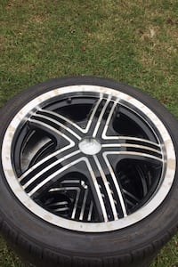 Milani 17x7 wheels and tires