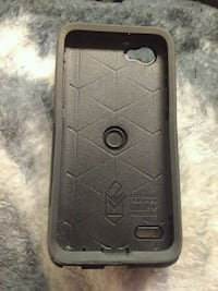 black Otter Box iPhone case Red Deer, T4R