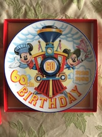 Walt Disney collectors plate