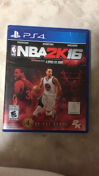 NBA 2K16 PS4 game case 2668 km