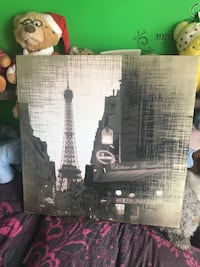 silhouette of Eiffel Tower, Paris painting Nottingham, NG9 2BJ