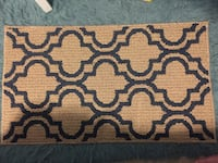 brown and white area rug Navarre, 32566