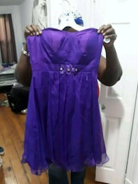 women's purple sleeveless dress Jersey City, 07305