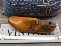 "Wooden Shoe Mold 1959...Woodright Shoe Factory J.V. Size 11.5D #301...12""L x 4""W Calgary, T2L 0W6"