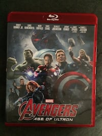 Marvel Avengers Age of Ultron Blu-Ray Disc movie case