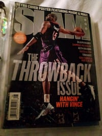 Slam magazines 8 issues mint condition St. Catharines, L2T 1V6