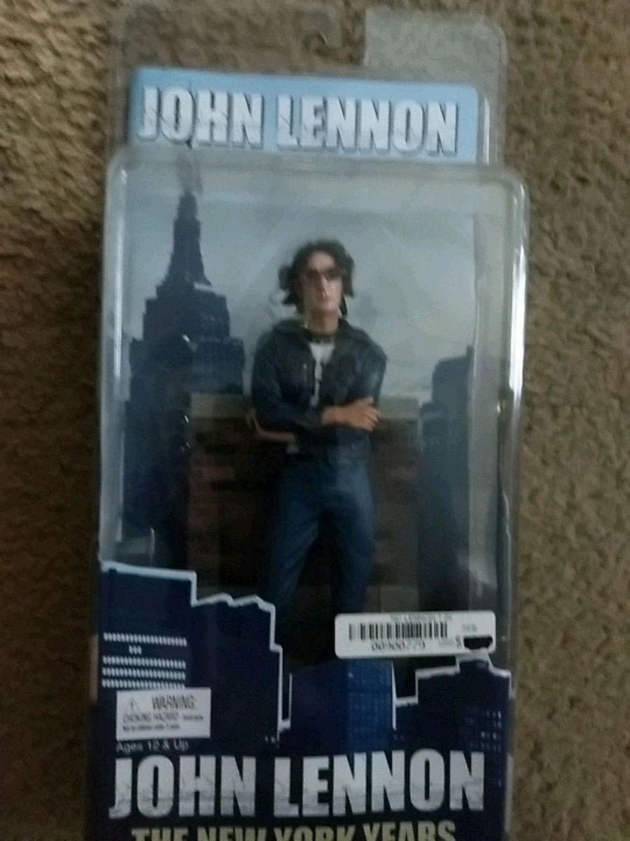 Photo John Lennon The New York years figure