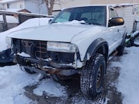 2001 Chevrolet S-10 ZR2 4x4 runs great drives great as is will look at 2dr car trades Calgary