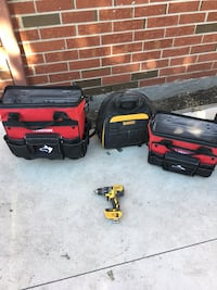 Tool bags and drill