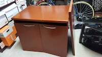 Solid wood (mahogany stained cherry) cabinet Vancouver, V6C 0B2