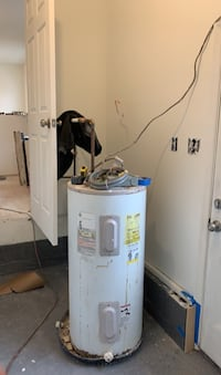 50 gallon electric hot water heater