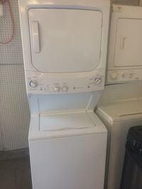 white stackable washer and dryer Stockton, 95205