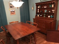 brown wooden table with chairs Woodbridge, 22193