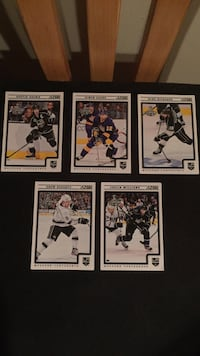 5 Score LA Kings Stanley Cup Hockey Cards Burnaby, V5C 2M3
