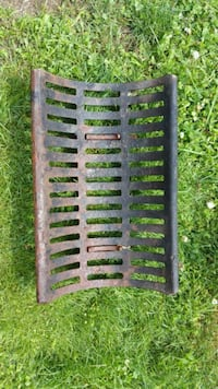 Vintage 1950s Cast Iron Fireplace grate Abbotsford, V4X 2P7
