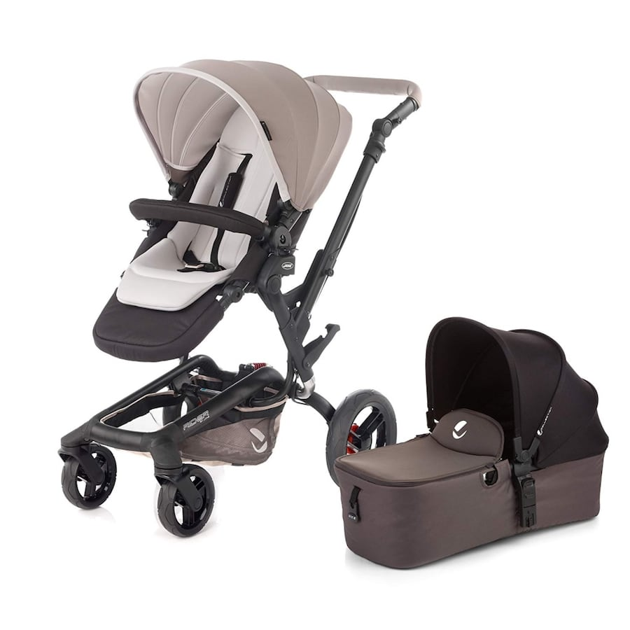 Jane Rider Stroller and Bassinet + Maxi-Cosi car seat adapters