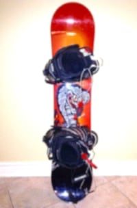 5150 Shooter Snowboard 118 cm LTD LT1 Bindings and Burton Boots Mens Size 7  London