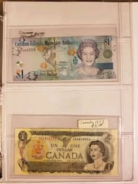 Foreign Currency mixed; Canada, British, Germany,  Mexico,  Japan, etc Las Vegas
