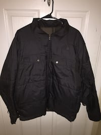 Men's LARGE reversible Jacket 34 km