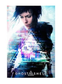 Ghost in the Shell live action movie poster
