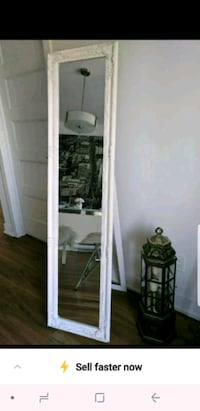 Grand miroir sur pied shabby chic baroque neuf Longueuil