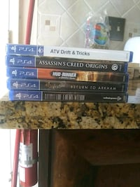 PS4 games *needs to be gone by Saturday* Coquitlam, V3J 6T4
