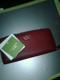 red Kate Spade leather wristlet Vancouver, V6B 1B2