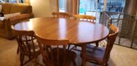 6 chairs and table Shakopee