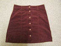 women's size s brown skirt London