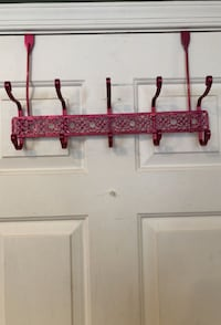 Pink over the door hooks 18 inches long Manassas