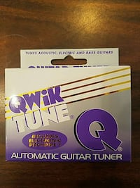guitar and bass tuner
