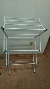 white metal clothes drying rack Vancouver, V5R 5P5
