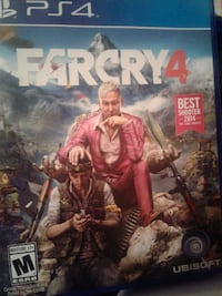 Sony PS4 Farcry 4 case Bakersfield