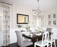 Antique white dining chairs Kitchener, N2A 4C4