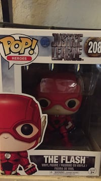 Pop! DC Justice League The Flash vinyl figure box