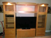 Adjustable Lighted Entertainment Center Port Richey, 34668