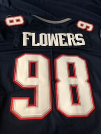 Patriots jersey of the champs..