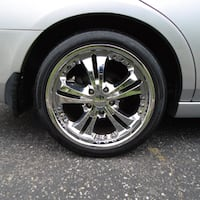 "18"" rims and tires 245/45/18. use for Honda, Acura. $400.00 or best offer Clifton"