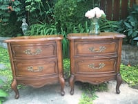 Delivery - pair of antique French provincial night stands  Toronto, M9B 3C6