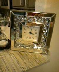 Blinged out clock