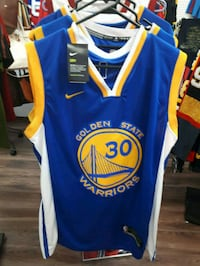 blue and yellow Golden State Warriors jersey Montreal, H3N 2R6