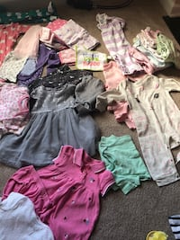 6-9 months girls clothes blankets, bibs etc great buy Columbus, 31909