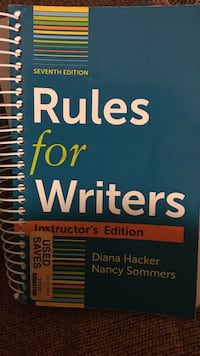 Rules for Writers seventh edition by Diana Hacker