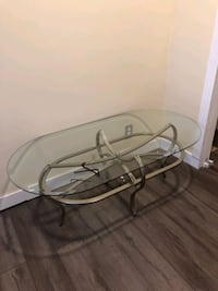 Newer glass coffee tables