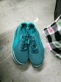 Puma teal tall running shoes Anderson, 96007