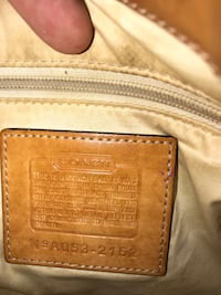 coach purse authentic with serial number  Sugar Land, 77498