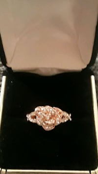 Sterling silver with gold tone rose ring Palmdale, 93550