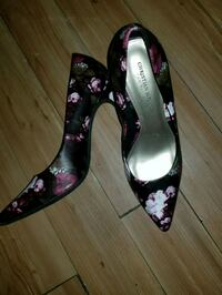 black-and-purple floral pumps size 10 Altamonte Springs, 32714